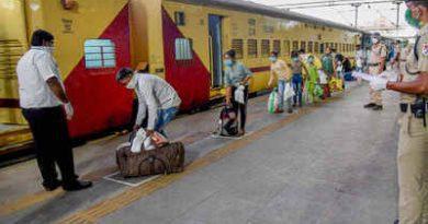 श्रमिक स्पेशल ट्रेन से हरिद्वार से 432 मजदूरों को भेजा गया बिहार।